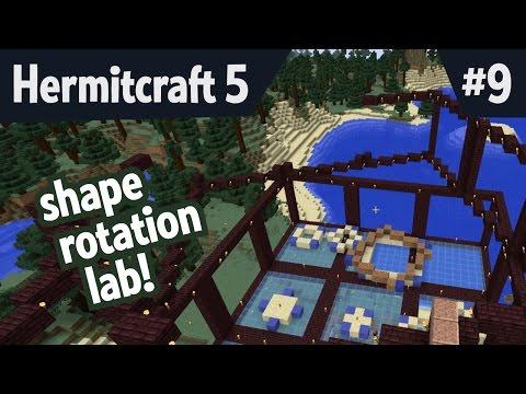 Shape rotation lab! — Hermitcraft5 ep 009