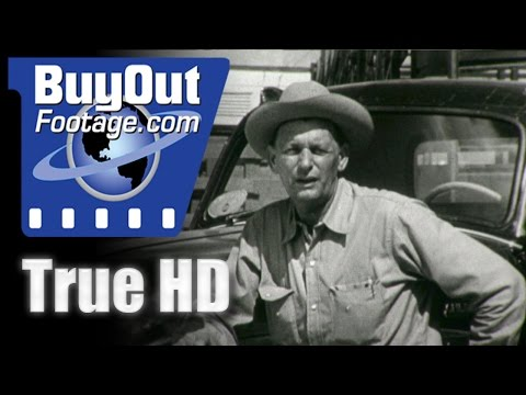 Flashback 1950s Auto Film - The Men Who Know   HD Stock Footage