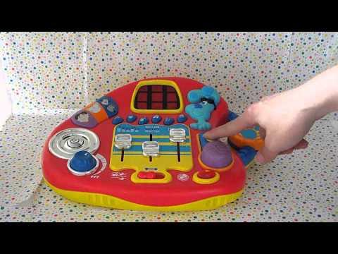 Blues Clues Mixin Music Studio Dj Sound Player 2001 F