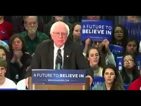 Bernie Sanders Rally New Hampshire FULL 1/4/16 Electrifies crowd calls out Donald Trump
