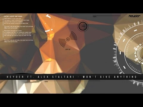 Heyder Ft. Alex Staltari - Won't Give Anything (Extended Mix)