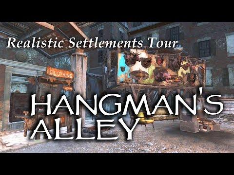 Settlement Tour ep10 Hangman's Alley Fallout 4 PS4