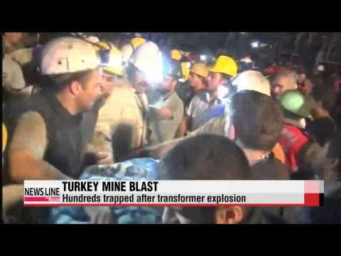 Turkey mine blast kills scores