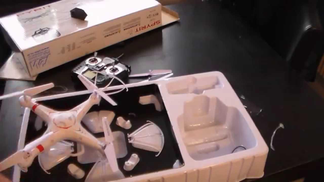 unboxing drone spyrit t2m test en vol youtube. Black Bedroom Furniture Sets. Home Design Ideas