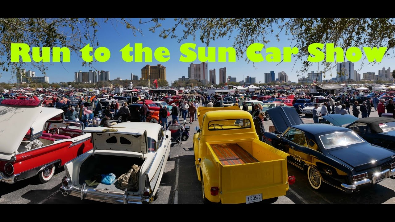 Car Show Myrtle Beach SC Run To The Sun YouTube - Myrtle beach car show
