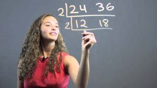 Teaching Kids Lcm & Gcf With The Ladder Method : Math Concepts