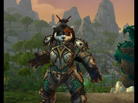 7.3 PTR New Casting Animations for Shaman (female pandaren) in World of Warcraft Legion