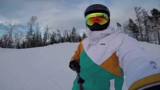 Тур выходного дня на лыжах