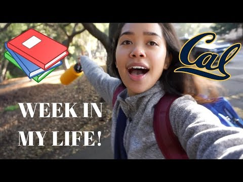 WEEK IN MY LIFE IN COLLEGE!!! #1 (UC BERKELEY)