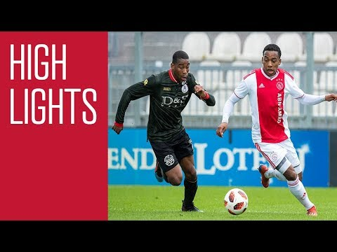Highlights Ajax O19 - Sparta O19