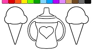 Sippy cup coloring page for Shy guy coloring pages