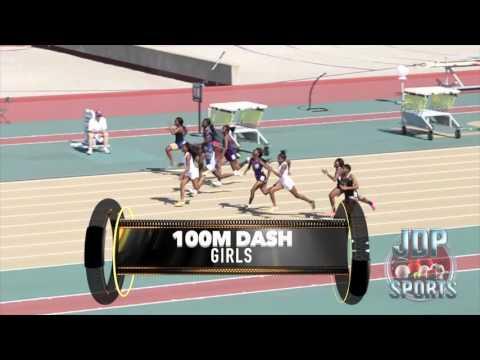 2016 High School State Track Meet  (100m Hurdles & 100m Dash) Boys & Girls Baton Rouge, La @ LSU