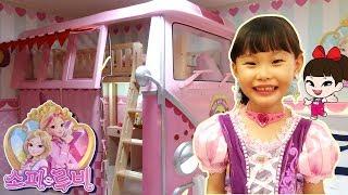 [60분]라임의 인기 동영상 영상모음 미니특공대 파자마삼총사와 소피루비방 indoor playground fun for kids | johny johny