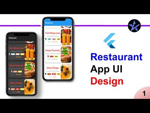 Flutter Tutorial   Restaurant App UI Design   Part - 1