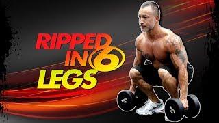 6 Minute Leg Workout (Dumbbells Only)