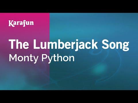 Karaoke The Lumberjack Song - Monty Python *