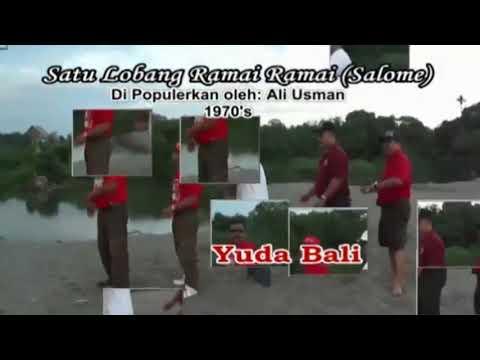 YUDA BALI - SALOME / Satu Lobang Rame Rame ( Voc.Ali Usman )