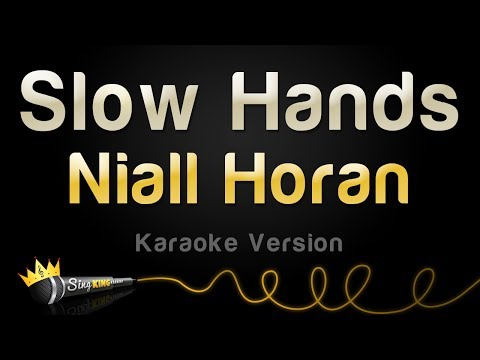 Niall Horan  Slow Hands Karaoke Version