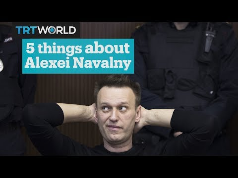 Five things to know about Alexei Navalny