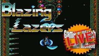 Blazing Lazers (TurboGrafx 16) - Game & Watch Live | MichaelBtheGameGenie