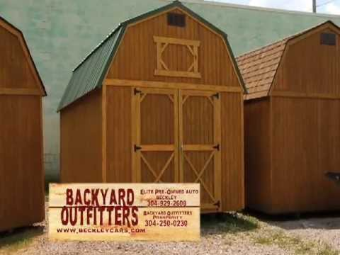 backyard outfitters inc locally built storage buildings With backyard outfitters inc