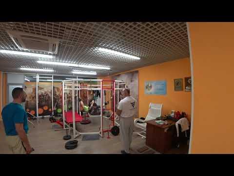тренировка от Александра Третьякова в тренажере правило на грузах
