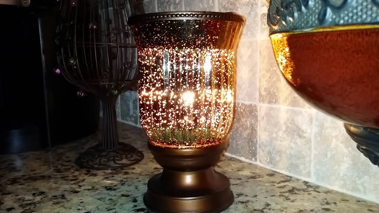 Scentsy Amber Fluted Shade Lampshade Warmer  YouTube
