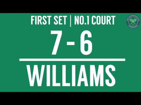 2016, Day 7 Highlights, Venus Williams vs Carla Suarez Navarro