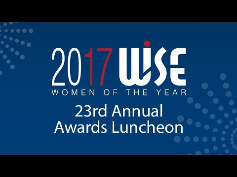 WISE Women of the Year Luncheon 2017