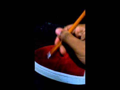 How to clean Puma Suede with just a simple eraser!