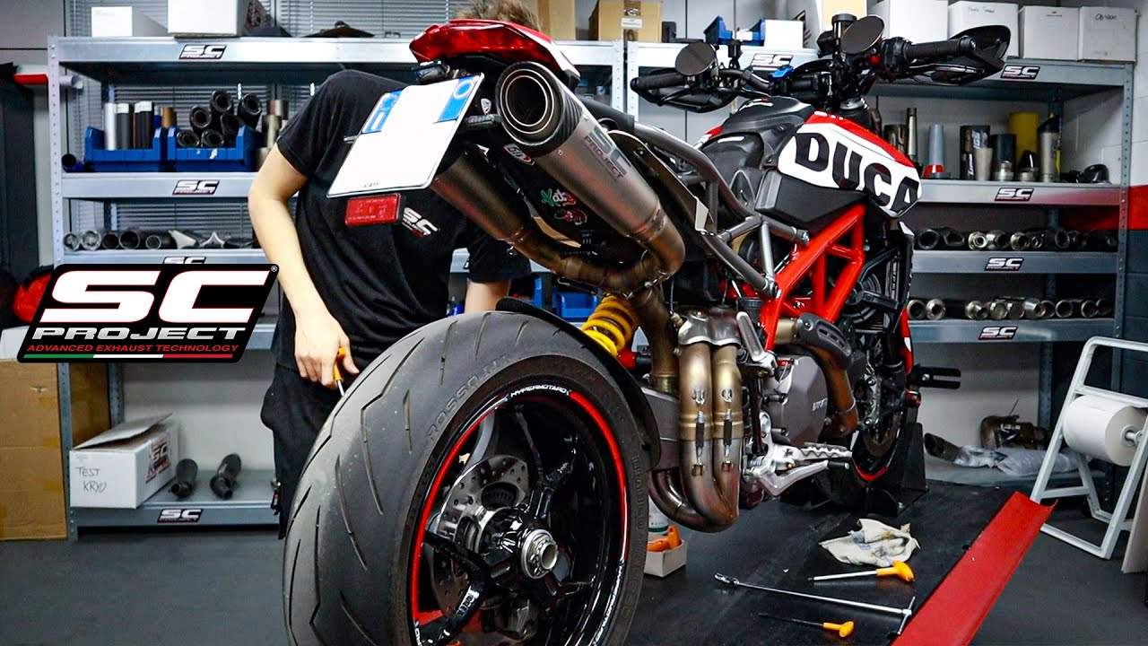 HYPERMOTARD 950 ONLY SOUND FULL SC-PROJECT | RAW