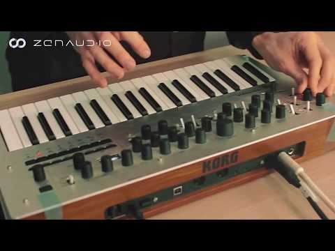 Live Looping the Korg Minilogue with zenAud.io ALK