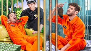 Rich Jail vs Broke Jail / 15 Funny Situations!