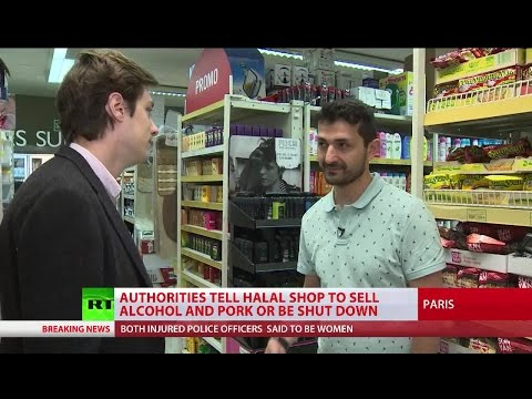 Halal Horror? France 'forcing' halal shop to sell alcohol