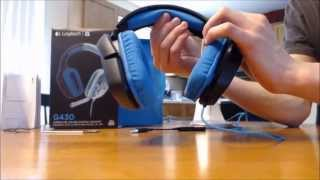 Logitech G430 Gaming headset review & audio test