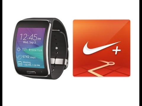 Nike Plus Running App on Samsung Gears S Smart Watch Full Review 2014
