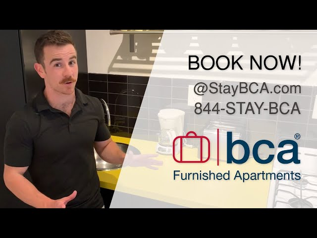 Cool Classic Studios - BCA Furnished Apartments - Atlanta Extended-Stay Hotels & Vacation Rental