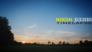 Timelapse - Photography with Nikon D3300