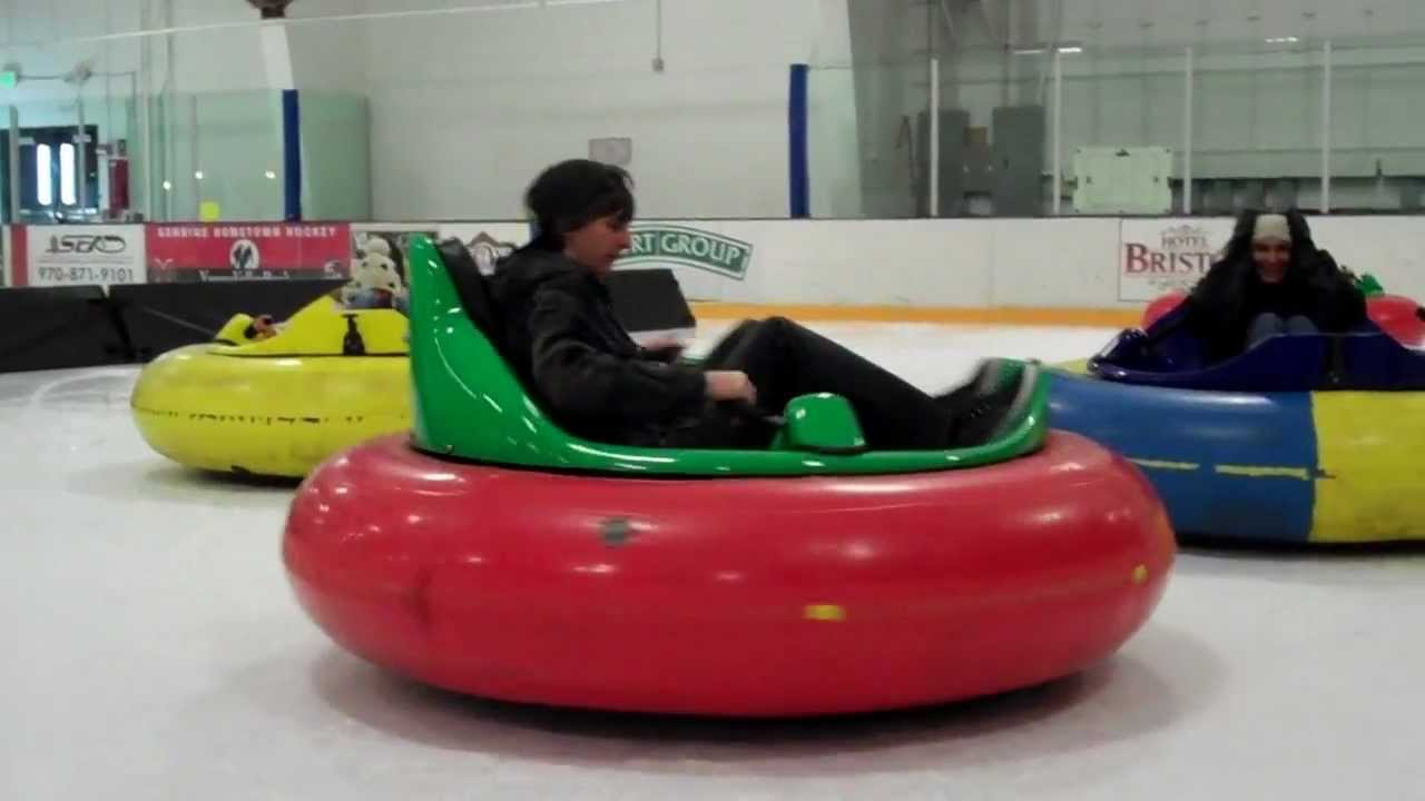 More Bumper Cars On Ice At Howelsen Ice Arena Steamboat Springs