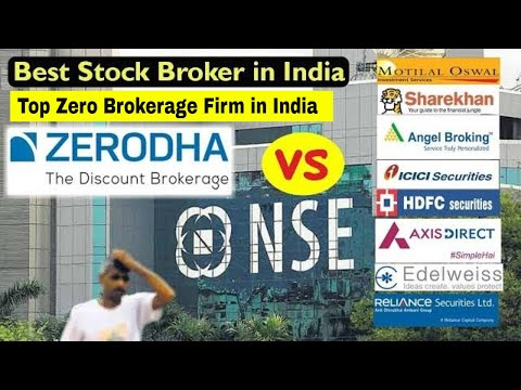 Zerodha Vs Sharekhan, Angel broking in hindi | Brokerage com