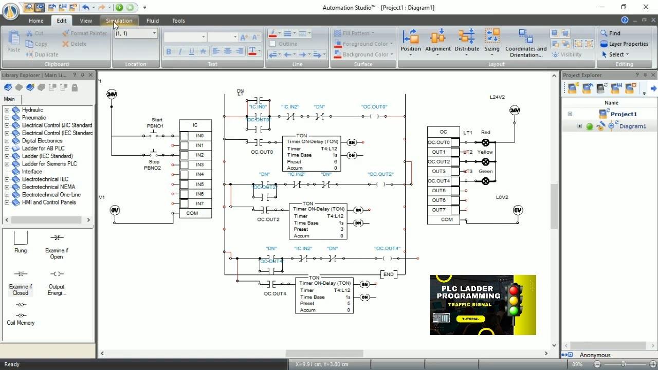 ladder logic diagram traffic light wiring diagram fascinating traffic light plc ladder diagram pdf [ 1280 x 720 Pixel ]