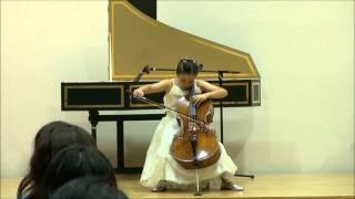 Saint-Saëns Allegro Appassionato cellosolo Chisato Simizu(11Jahre alt).wmv