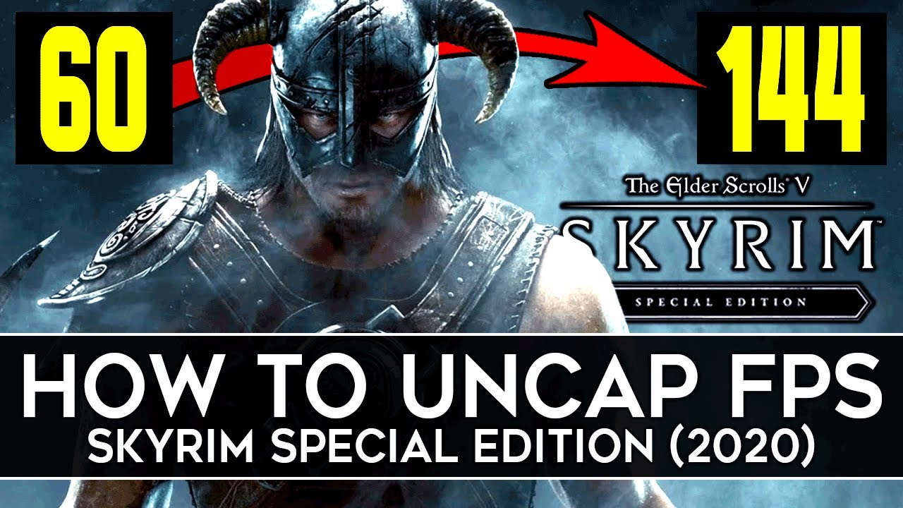 Download How to Unlock Framerate in Skyrim Special Edition (2020) - Remove FPS Limit, Fix Physics, & More!