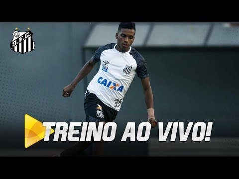 LIVE: Treino do Santos, no CT Rei Pelé