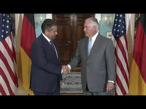 Secretary Tillerson Meets with German Foreign Sigmar Gabriel