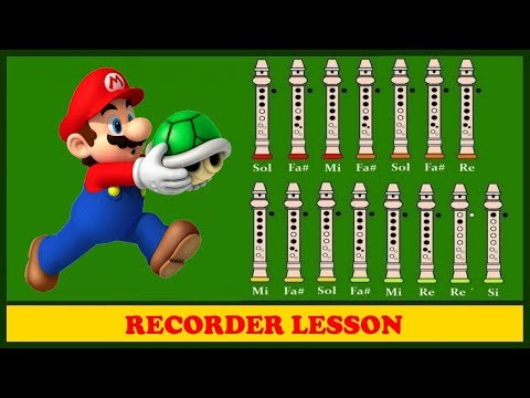 Super Mario Bros on Recorder (Tutorial)