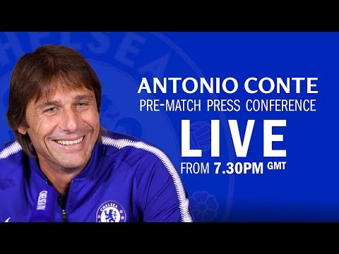 Chelsea v Barcelona | Eden Hazard & Antonio Conte Press Conference