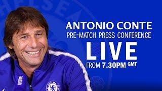 Chelsea v Barcelona | Eden Hazard & Antonio Conte Press Conference