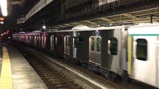 【甲種輸送】東急2020系2126F+6020系デハ6321  高崎