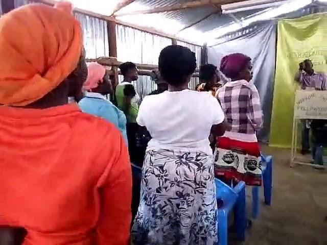 Brother Joseph Teaching from the Book of Genesis 3:7 - Kibera Slum Fellowship